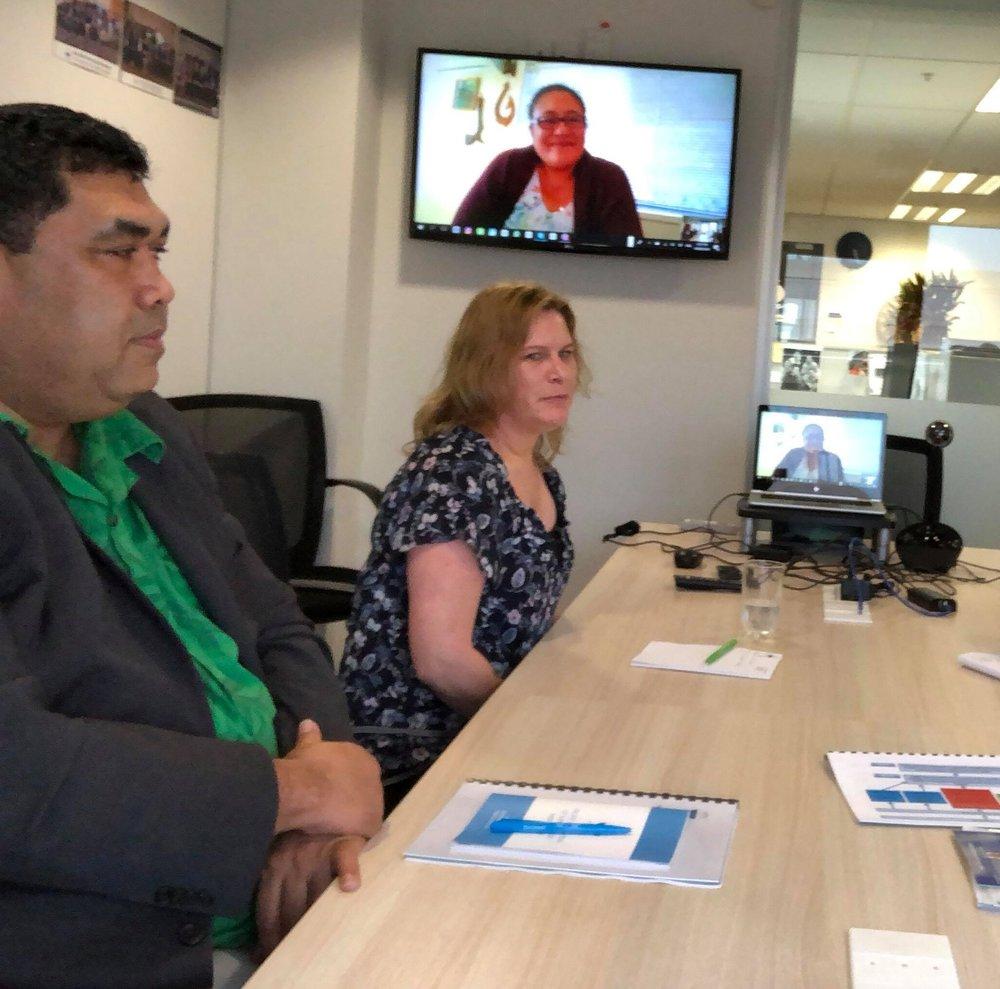 boardroom Tio, Nat, Agnes looking on.jpg