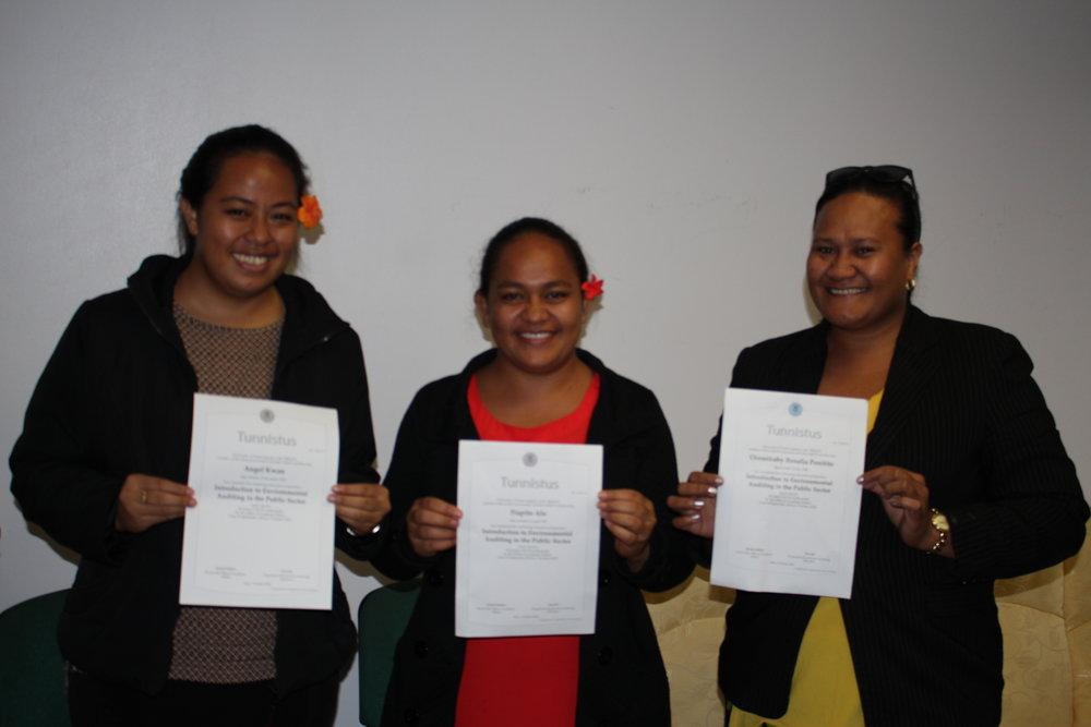 SAI Samoa's achievements in the MOOC