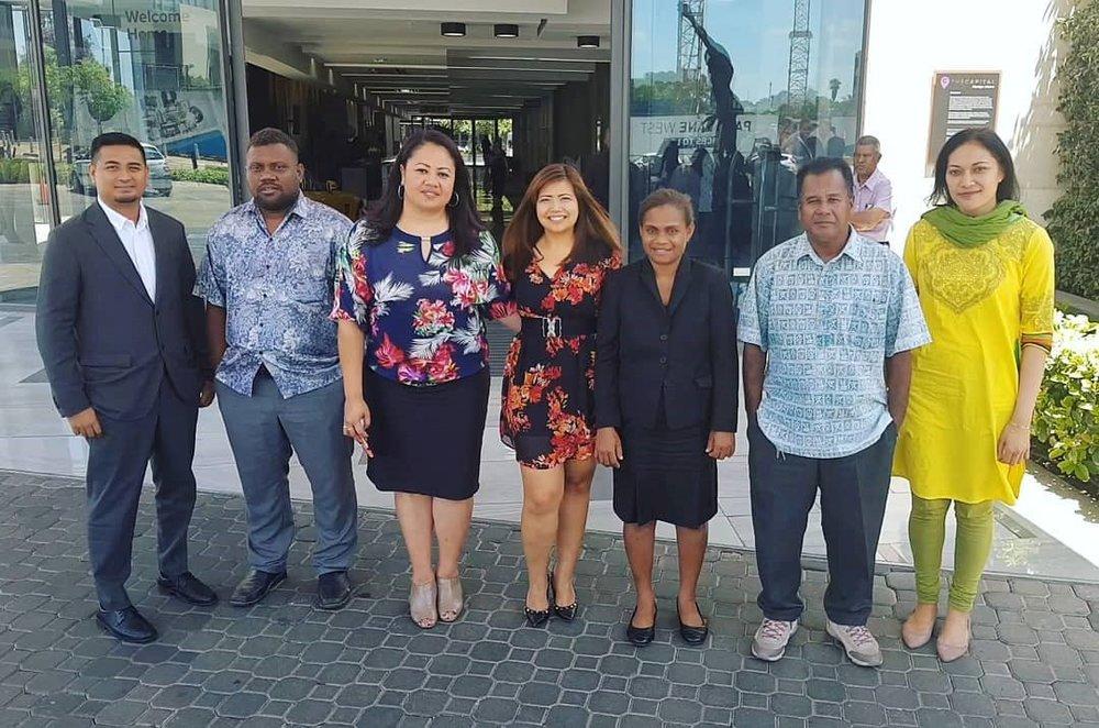 PASAI reps plus Rodalyn in Pretoria Stakeholder Engagement.jpg