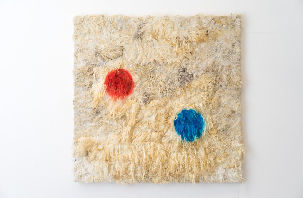 Brigitta Varadi, Noel Ruane, Ox Mountaion Sheep Wool, 2015