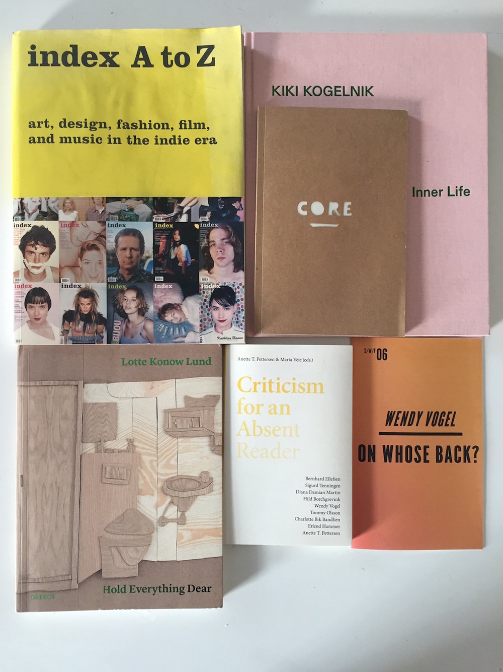 Wendy Vogel_books to which I have contributed_2014 to 2018