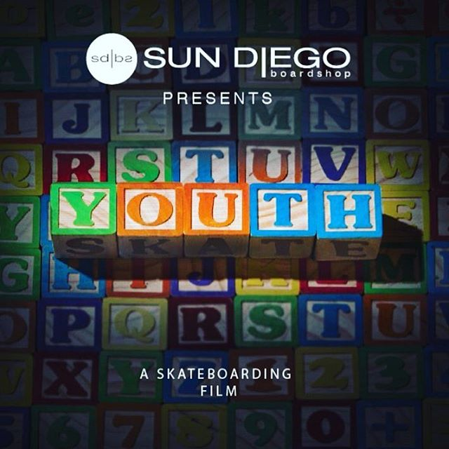 Come out this Saturday n party with us for the @sundiegoskates video premiere #youth! Will be a good time with talented friends at the @sector9 Warehouse - 4370 Jutland Drive, San Diego, CA 92117. Video at 8, we play at 9. @noguf @skeletor_giles @__little_c__ @sundiegoboardshops