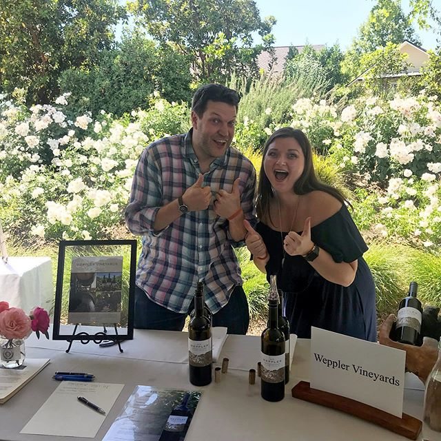 These two are back at it! #wepplervineyards #calistogawinegrowers #calistogaava #napavalley