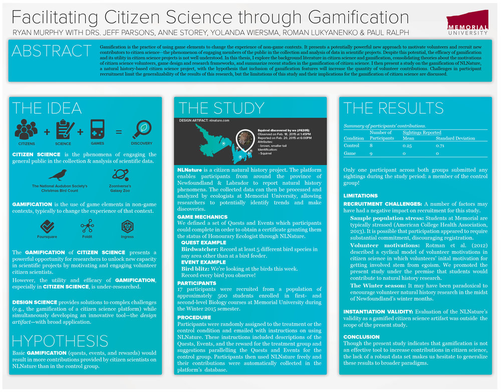 Gamification & Citizen Science - Exploring the promises (and perils) of using gamification to bolster crowdsourcing in research.