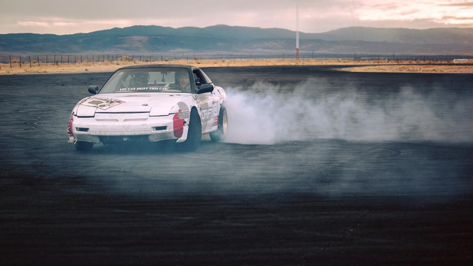 Drifting basics: be sure to scream a lot. Image courtesy of Wasim Muklashly.
