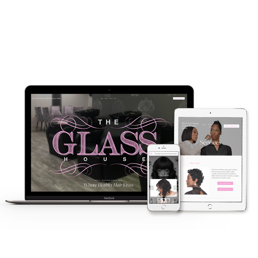The Glass House - Website Design