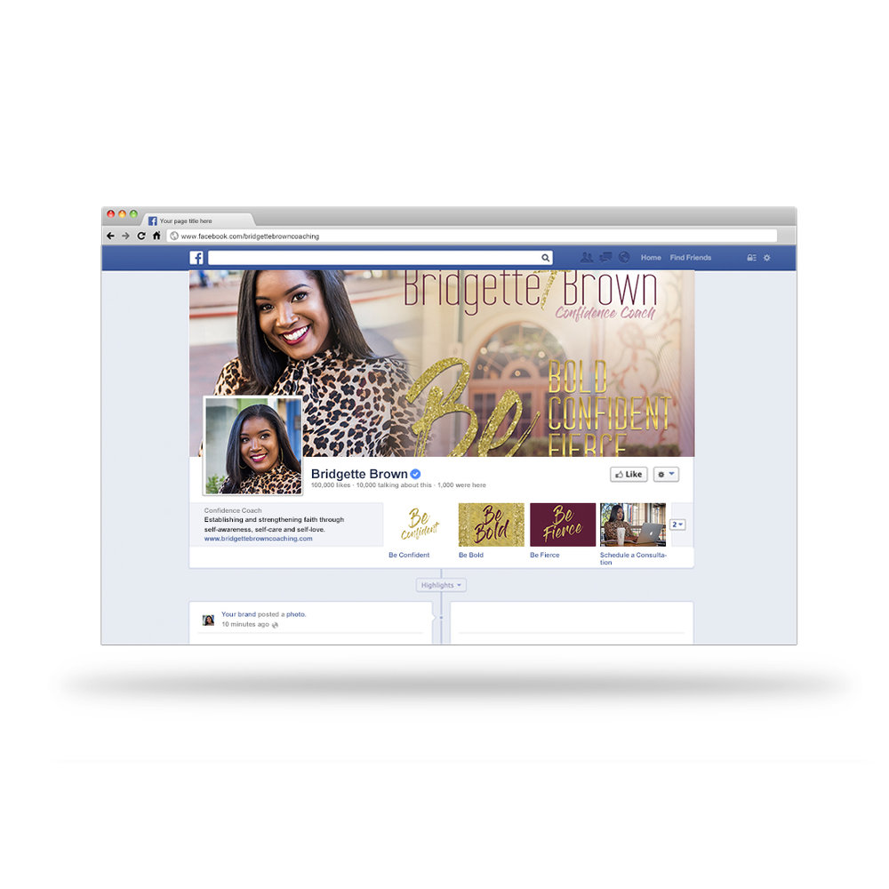 A Facebook cover design can be used to market your business as well as a way to promote an upcoming product launch, program or event.
