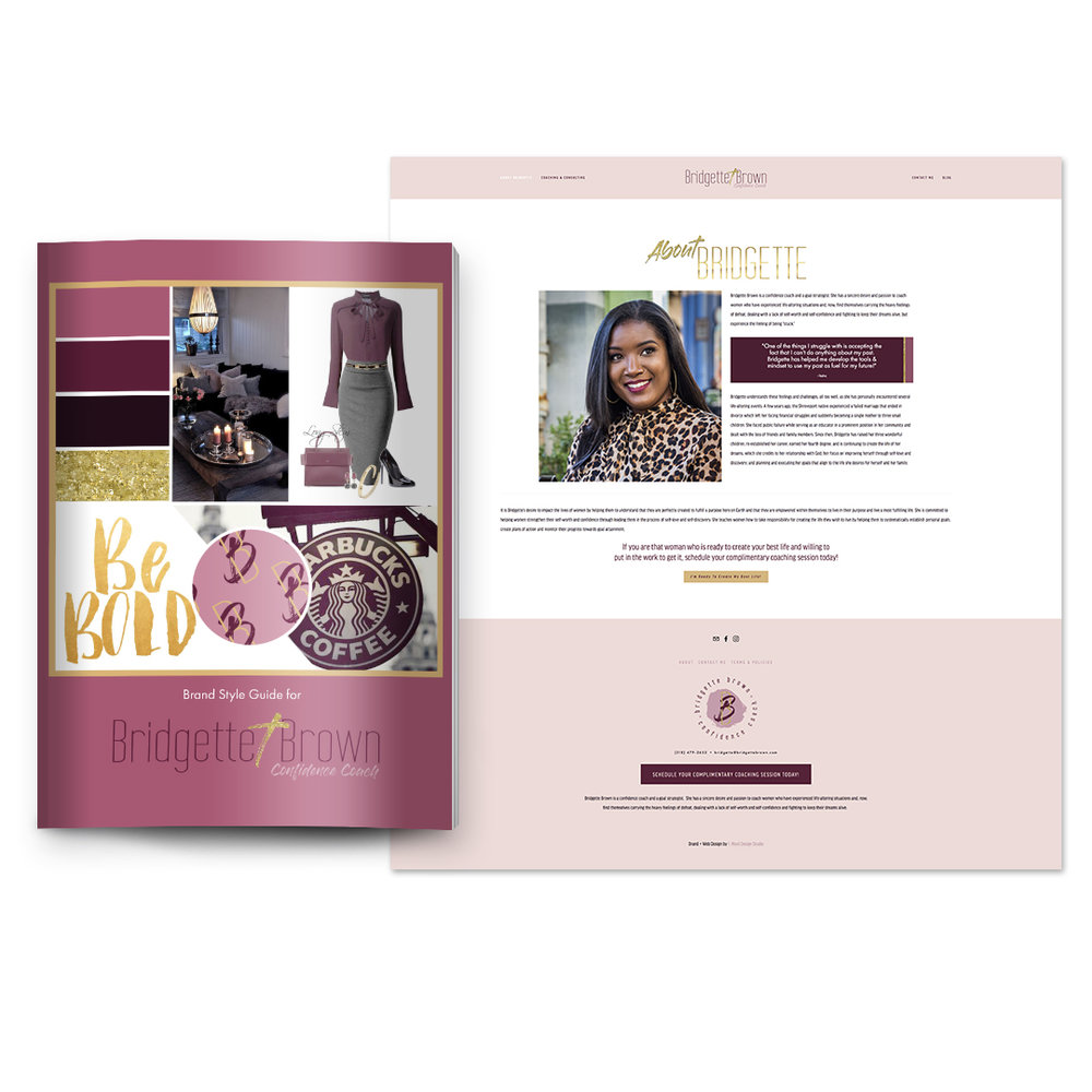 Luxe Brand + Web Design - Investment: 3 payments of $1697$4997 when paid in fullTimeline: 5 weeks