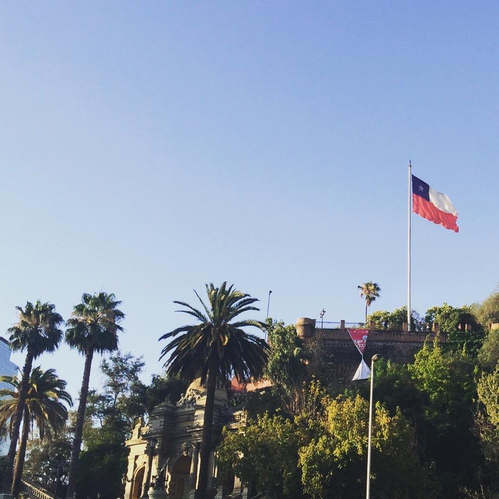 santiagoflag