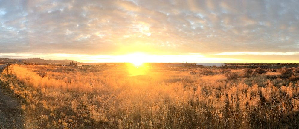 Dawn in Idaho