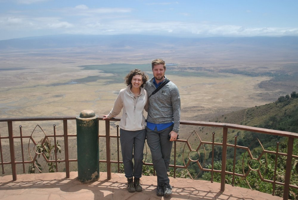 There are few views that can rival this one overlooking Ngorongoro Crater in Tanzania, with the best travel partner, I might add.