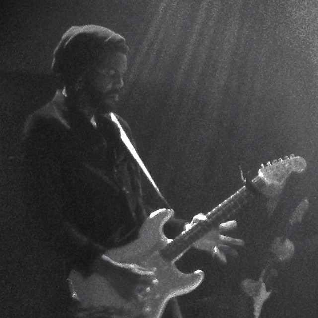 Gary Clark Jr. at 9:30 Club in DC circa 2013. Photo cred: likely my iPhone 4.