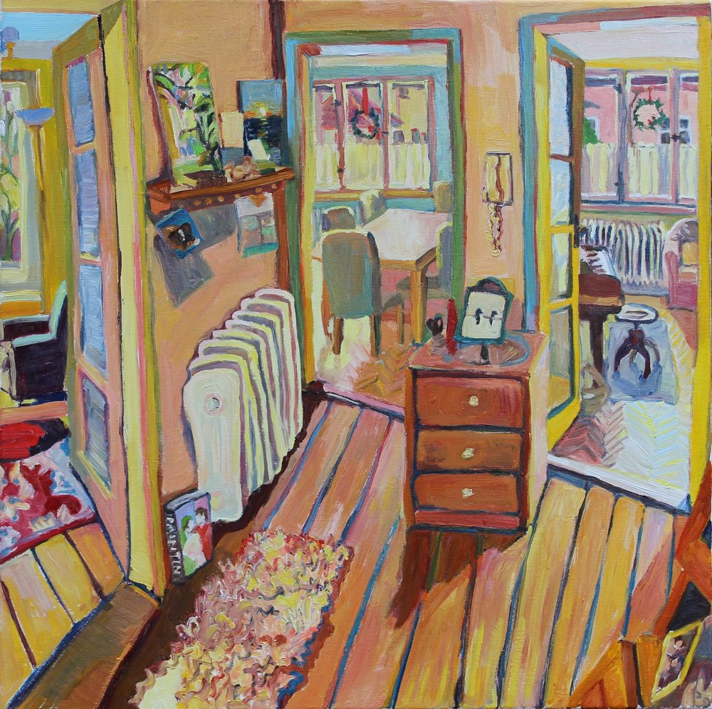 Fletcher's Room (the fullness of space in between) / 
