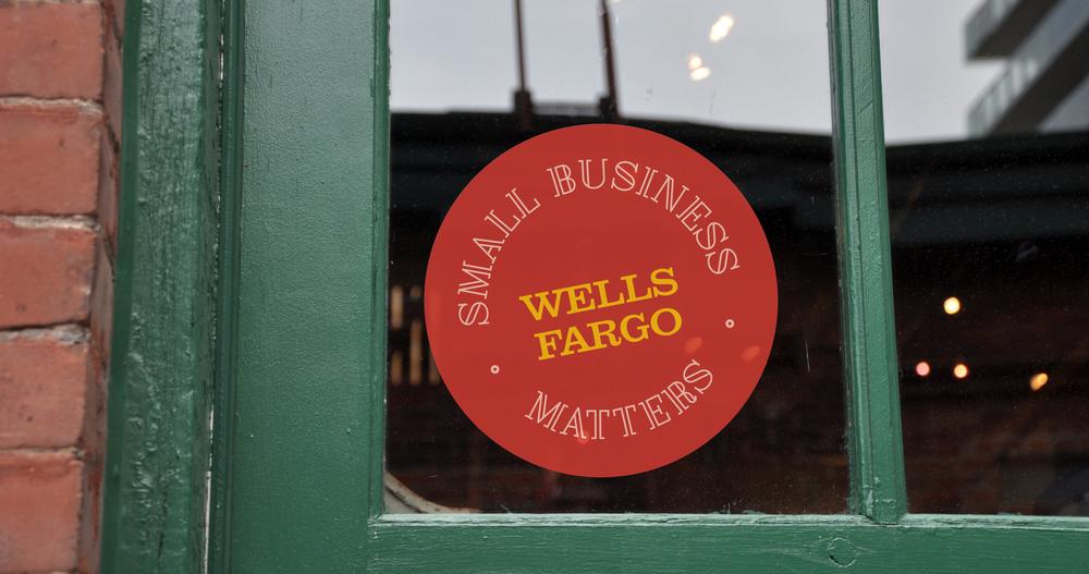 Wells Fargo Sticker