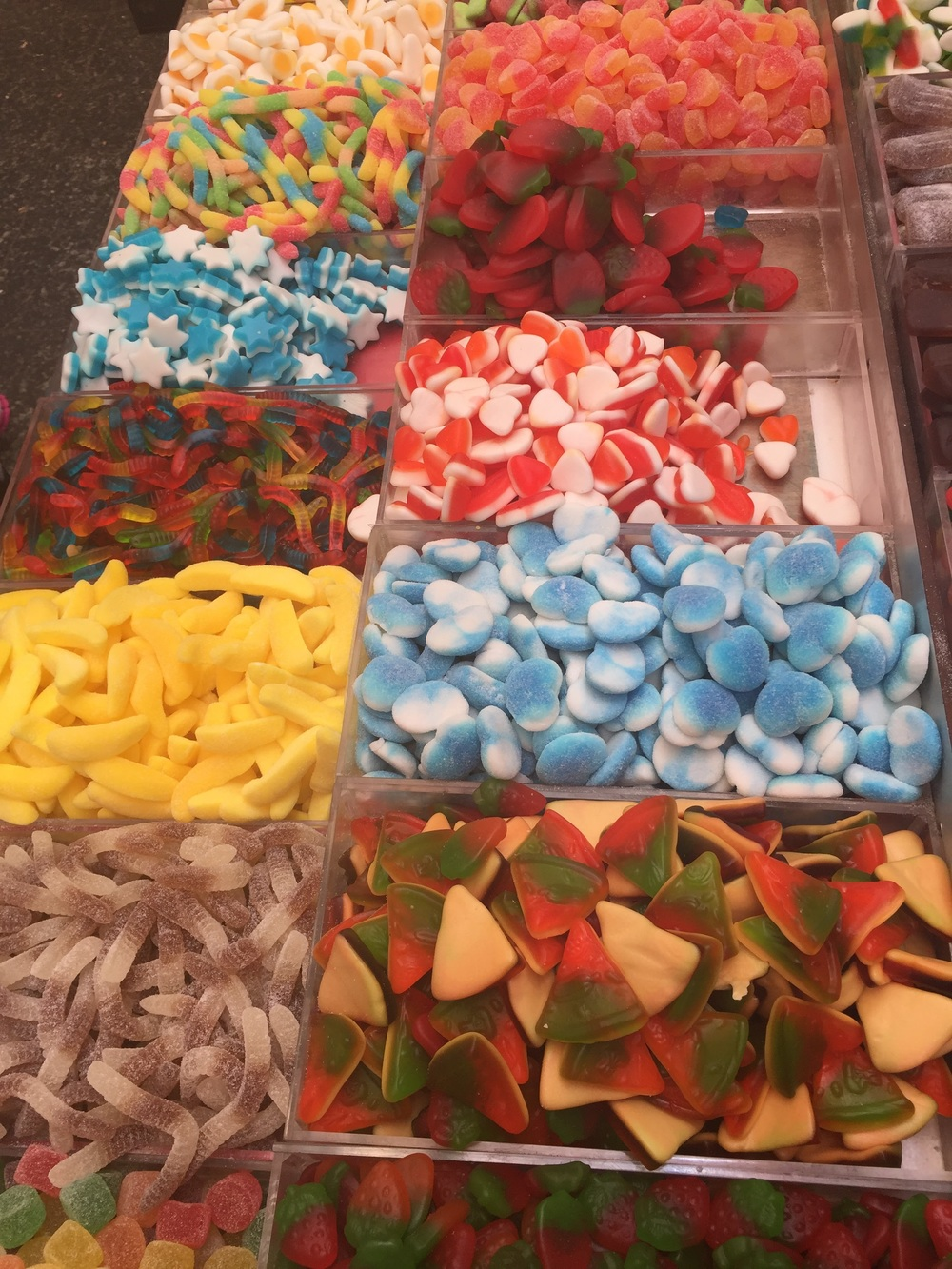 Gummy candy, far as the eye can see...