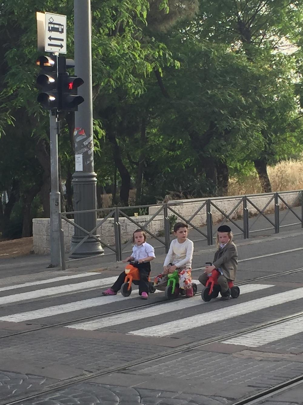Traffic Jam in Jerusalem