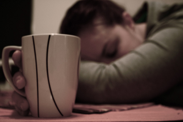 Physician Assistant Sick With Cup of Tea