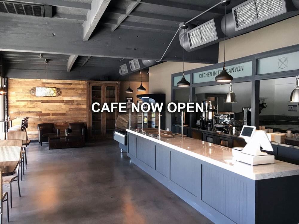 Cafe Opening Soon!