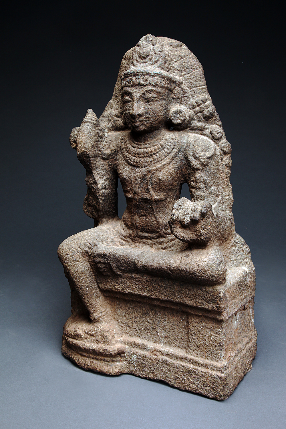 Chola Dynasty Granite Vishnu