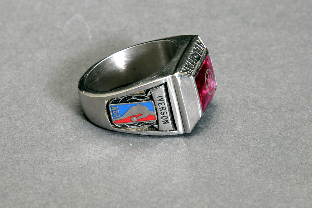 Rare Alan Iverson NBA All Star Ring