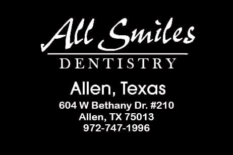 Dentist Allen | Implant Dentist | Emergency Dentist | Cosmetic Dentist | All Smiles Dentistry | SPECIAL OFFER
