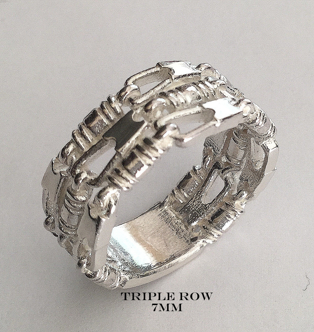 Triple Row 7mm- Bold and Trendy