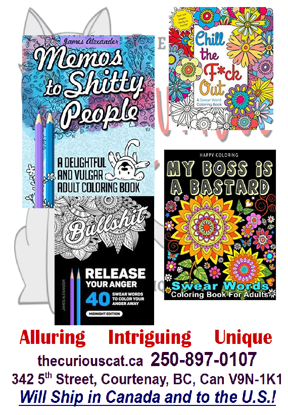 Swear Word Coloring Books And Other Naughts Stuff The Curious Cat