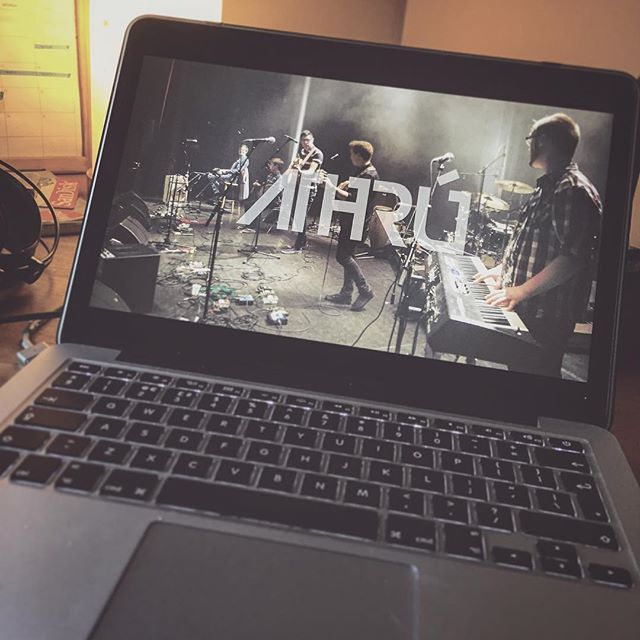 •• Athrú update •• Rehearsals underway this week for a few summer dates lined up • We've been working on some new sounds and material with a few guest musicians to be released in the future • Today was spent editing and reviewing some footage from our gig with Kila in France in March 2016 ••