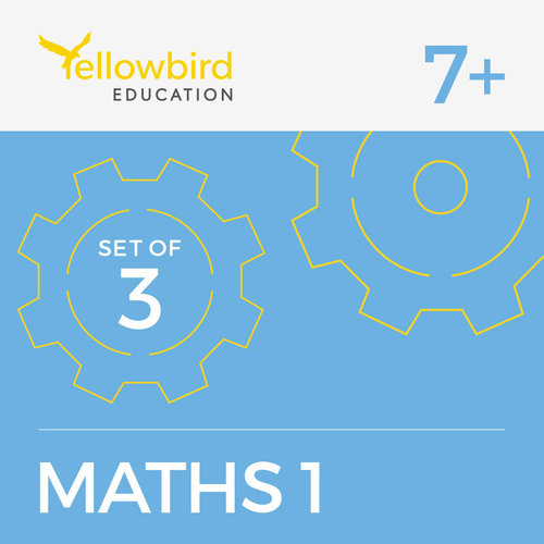 Maths 7+ Pack 1 Exam Papers — Yellowbird Education