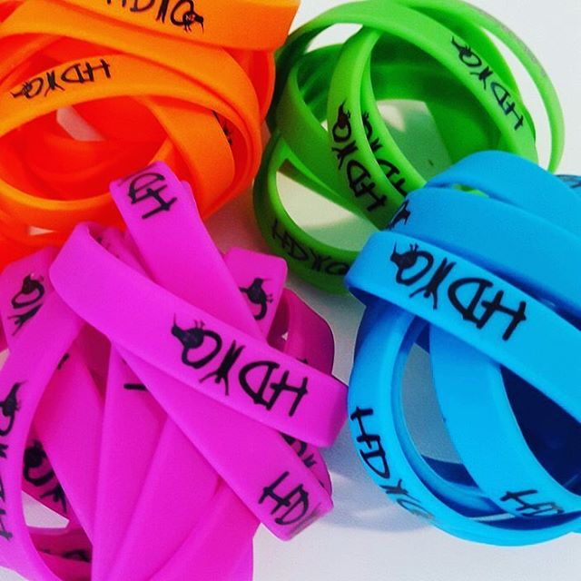 HDYO NZ exclusive wristbands! Show your support for HD 😉 #hdyonz #hdyo