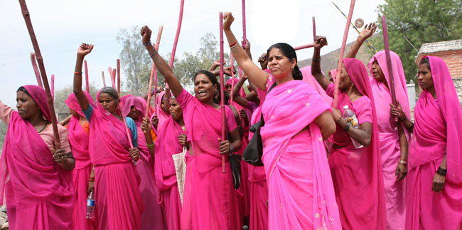 the real life Gulabi Gang