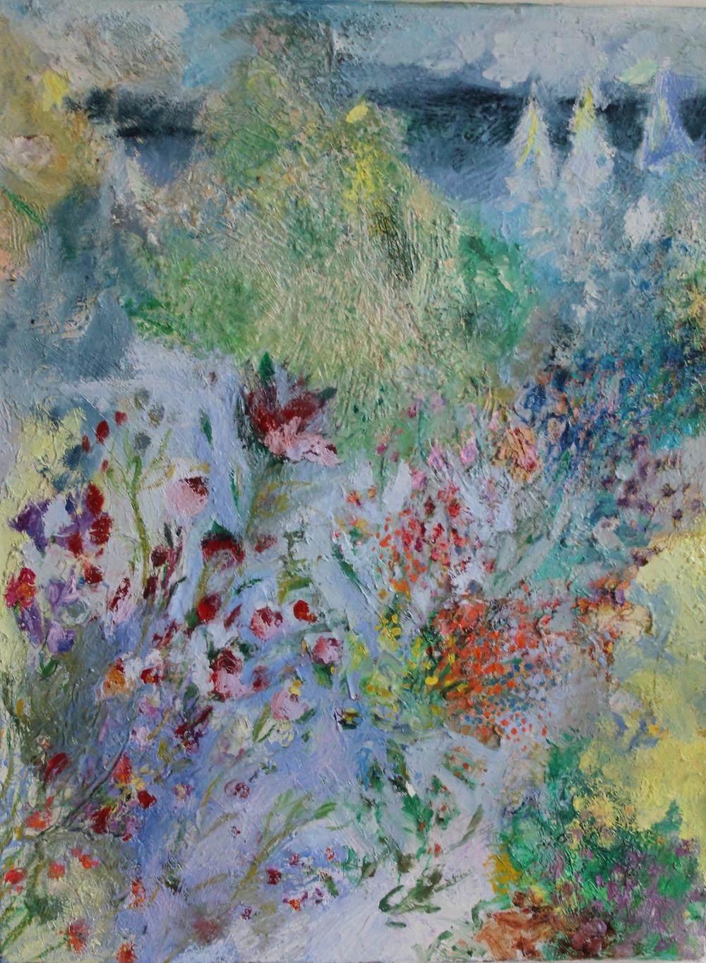 Nanna Jalkanen, Flora, oil on canvas,öljy kankaalle 80,5x60,5 hinta 2100 euroa.jpg