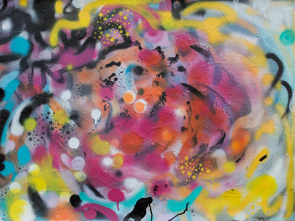 Rose Graffiti-Bloom Again