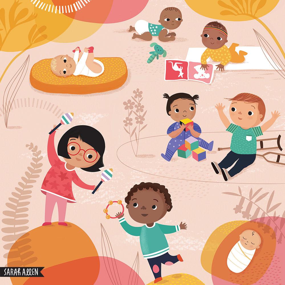 Children's book illutration