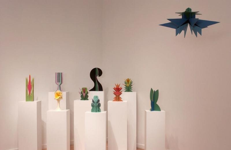 Giacomo Balla (1871-1951), Futurist Flowers, 1918-1925 (Reconstructed 1968), Hirshhorn Museum and Sculpture Garden