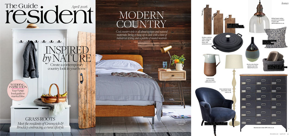 The Guide Resident - April 2016 - Ines Cole Victorian Tub Chair in grey velvet features on shopping page.jpg