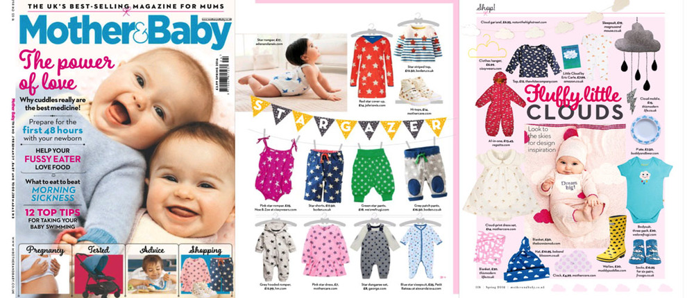 Mother & Baby - Spring 2016 - Noe & Zoe Romper from Cissy Wears features on Stargazer shopping page and Cloud Hanger features on Fluffy Little Clouds shopping page.jpg
