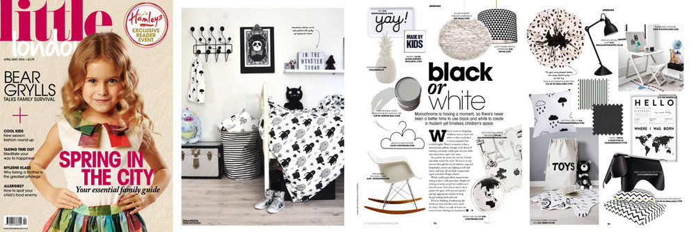 Little London - April May 2016 issue - Nendo Globe and Cloud Hanger from Cissy Wears feature on Black or White shopping page-1.jpg