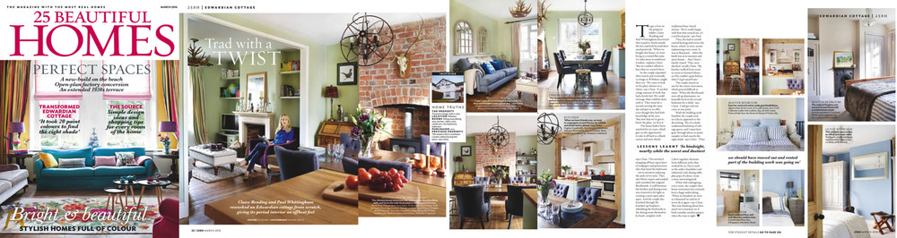 25 Beautiful Homes - March 2016 issue - Ines Cole Singer Table features in home spread-1.jpg