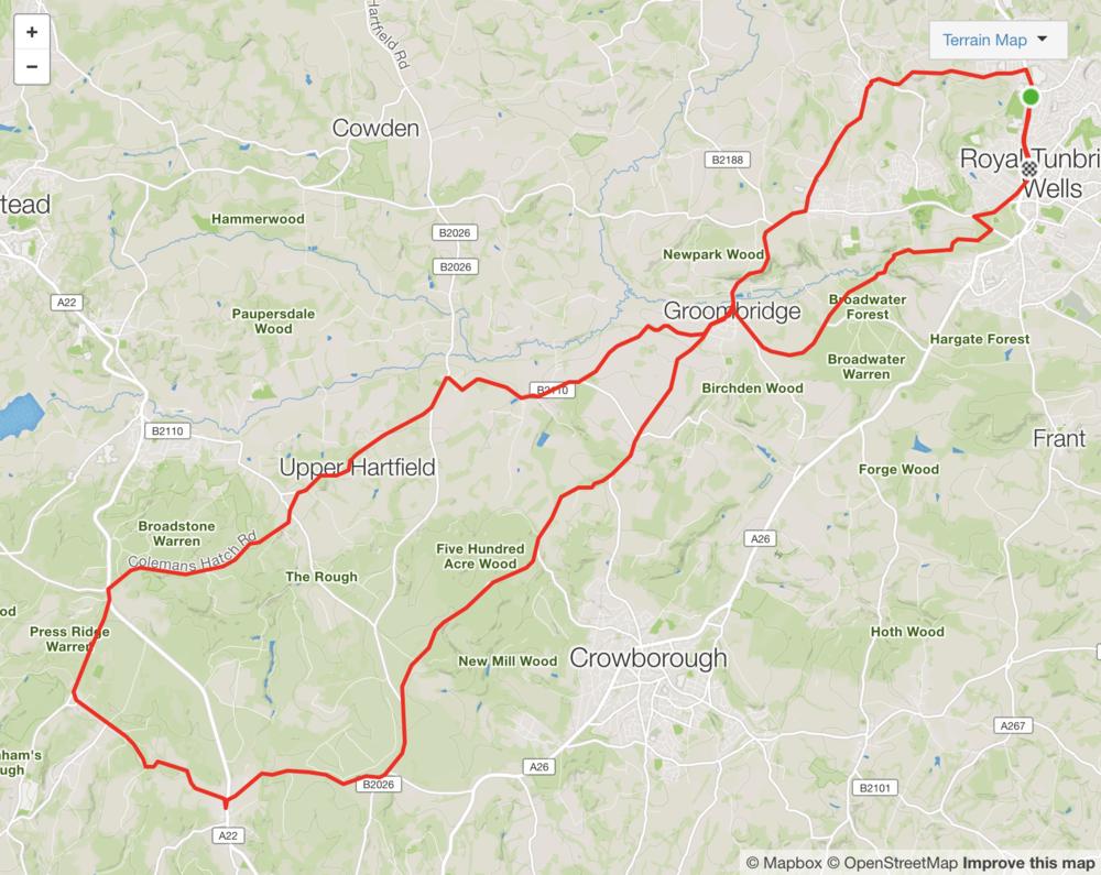 Strava Route