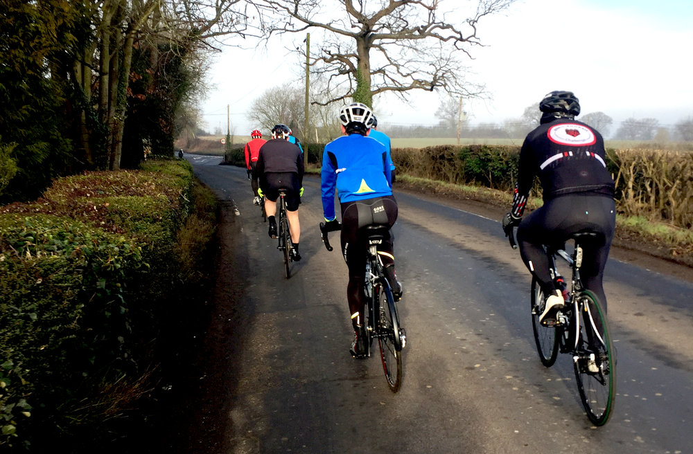 SIGN UP TO OUR Sunday CLUB rideS - Next ride on 25 March