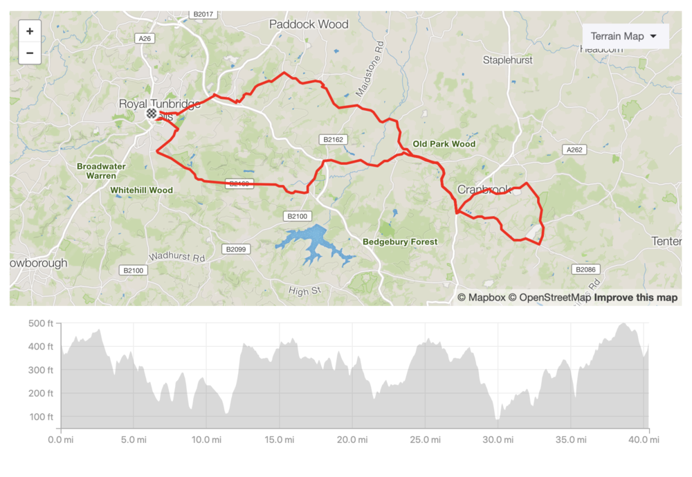 Download the GPX file of the route    See the route on Strava