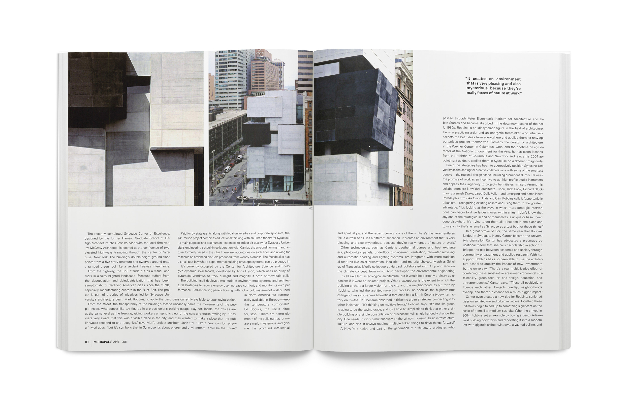 Metropolis Magazine Redesign — Algrthm Design Co  | Las Vegas