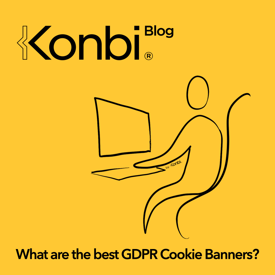 GDPR cookie banner  - What are the best cookie banner solutions to comply with the GDPR European law and the French CNIL? Illustration © Konbi - All rights reserved