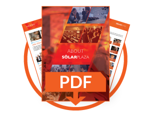 Learn more about Solarplaza in our corporate brochure
