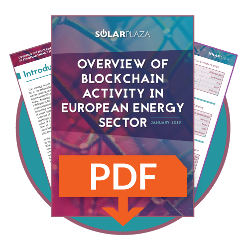 Overview of blockchain activity in European Energy Sector