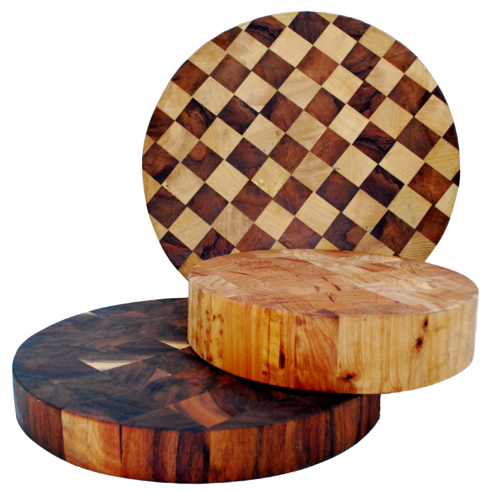 A7 End Grain Chopping Board