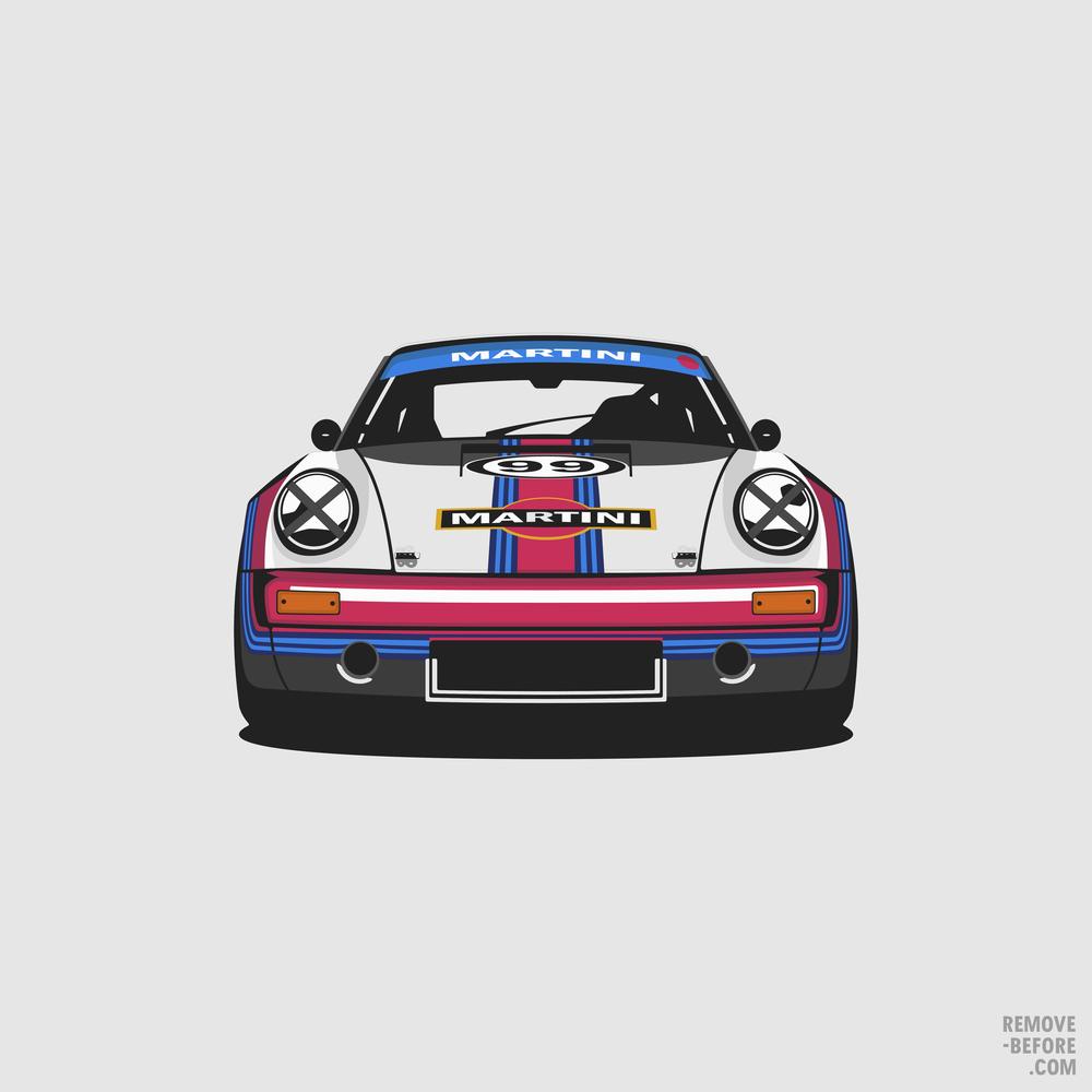 Porsche 911 RS Martini