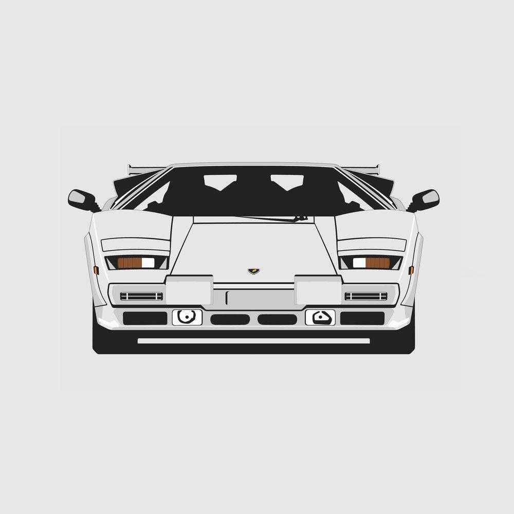 Lamborghini Countach Front.jpg