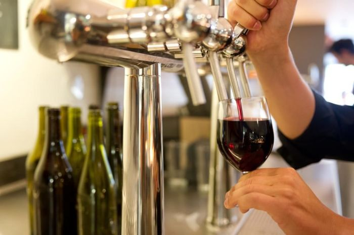 Do wines on tap strike you as a bit odd? You'd better get used to it! (Photo: Frizzenti)